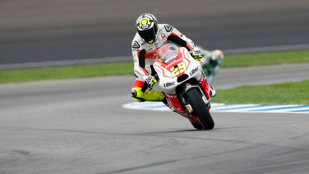 Andrea Iannone, Pramac Racing, INP Q2