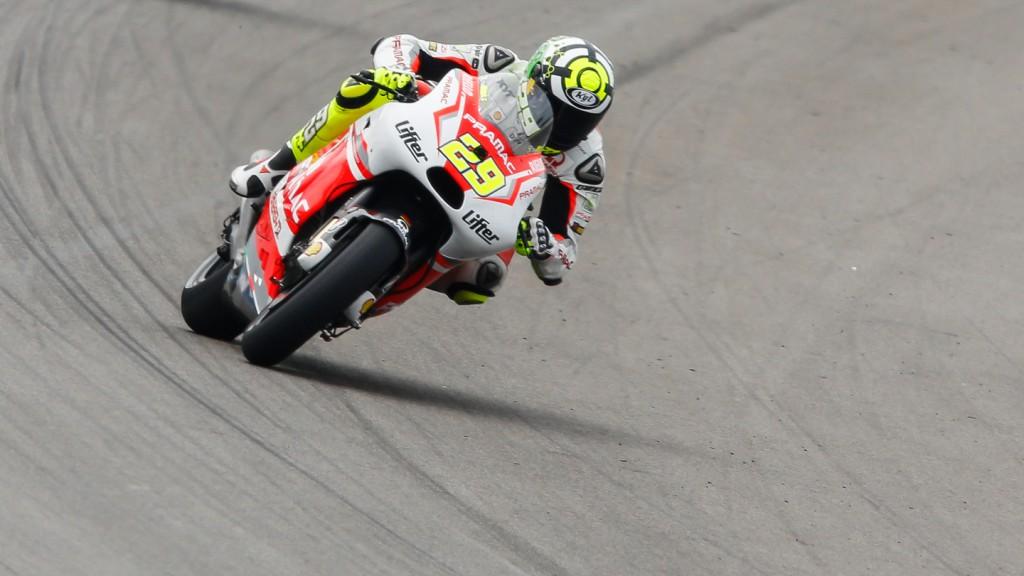 Andrea Iannone, Pramac Racing, INP FP3