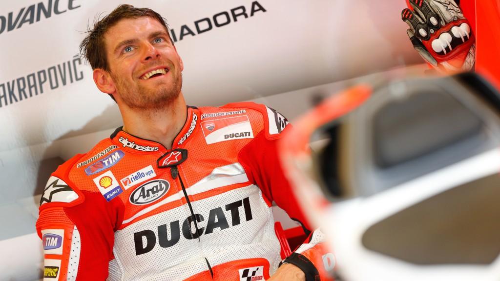 Cal Crutchlow, Ducati Team, INP Q2