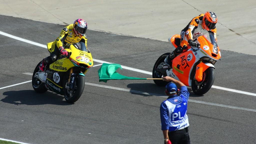 Maverick Viñales, Gino Rea, Páginas Amarillas HP 40, AGT REA Racing, INP QP