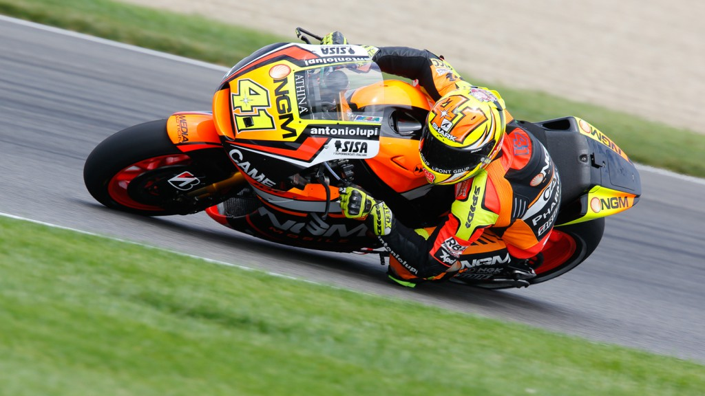 Aleix Espargaro, NGM Forward Racing, INP FP3