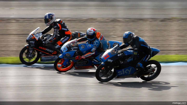 motogp.com · John Mcphee, Franco Morbidelli, Alex Rins, Italtrans Racing Team, Estrella Galicia ...