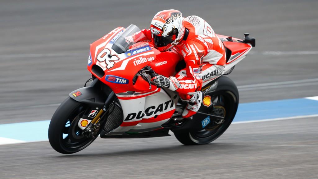 Andrea Dovizioso, Ducati Team, INP RACE
