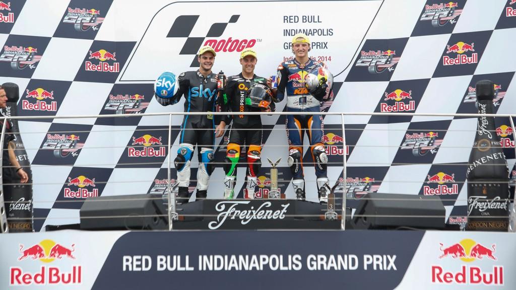 Romano Fenati, Jack Miller, Efren Vazquez, Red Bull KTM Ajo, SaxoPrint-RTG, SKY Racing Team  VR46, INP RACE