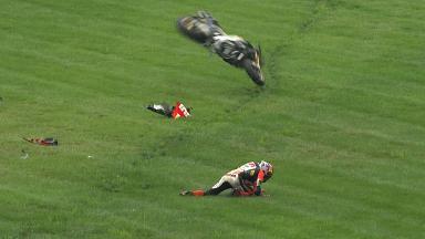 Indianapolis 2014 - MotoGP - RACE - Action - Stefan Bradl - Crash