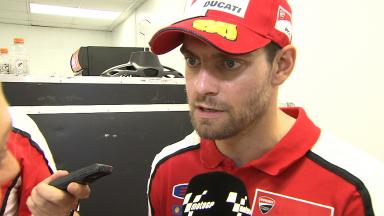 Crutchlow satisfied with result but not gap to front
