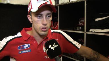 Dovizioso happy to have fought at the front at Indy
