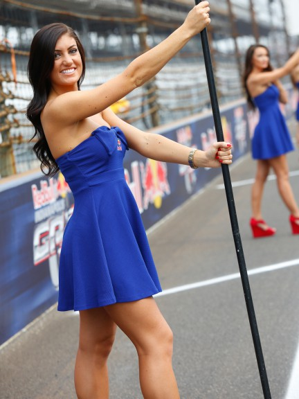 Red Bull Indianapolis Grand Prix Paddock Girl