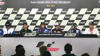 bwin Grand Prix České republiky: Pre-event Press Conference