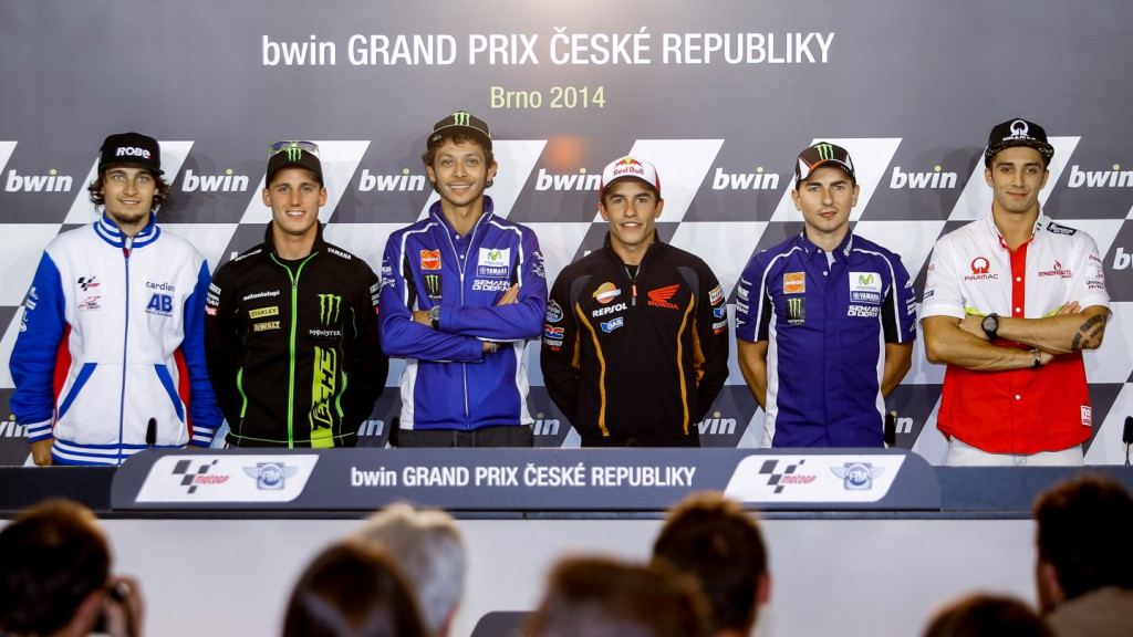 bwin Grand Prix České republiky Press conference