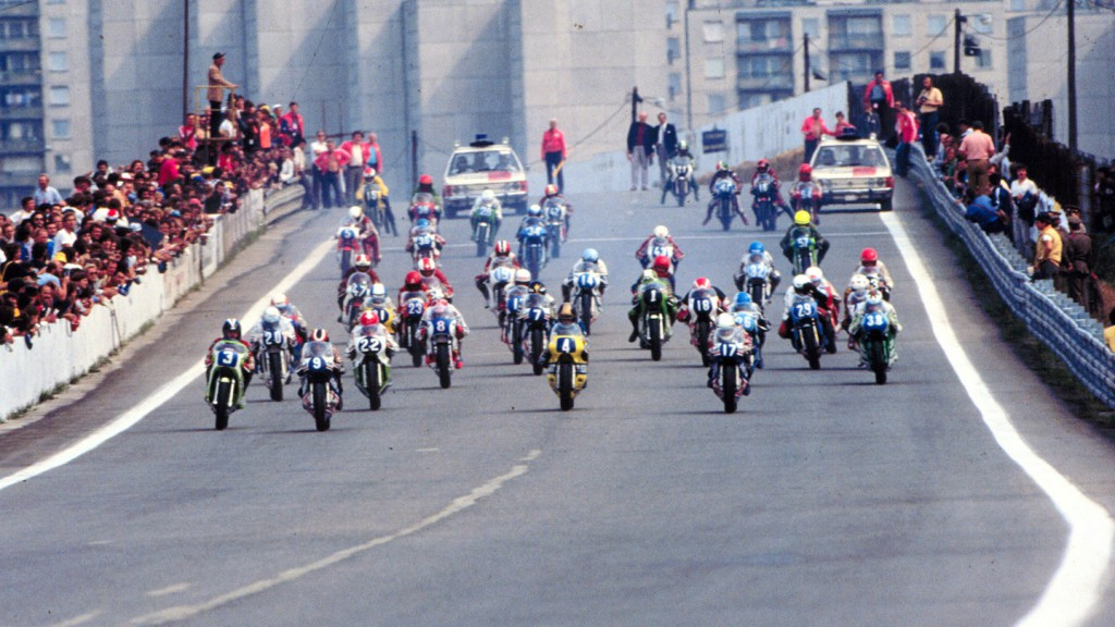 Brno's historic road race course