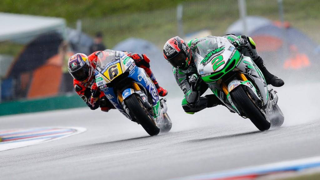 Stefan Bradl, Leon Camier, LCR Honda MotoGP, Drive M7 Aspar, CZE FP2