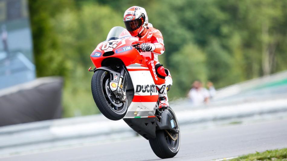 motogp.com · Andrea Dovizioso, Ducati Team, CZE FP2