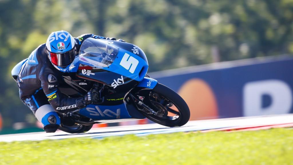 Romano Fenati, SKY Racing Team  VR46, CZE FP2
