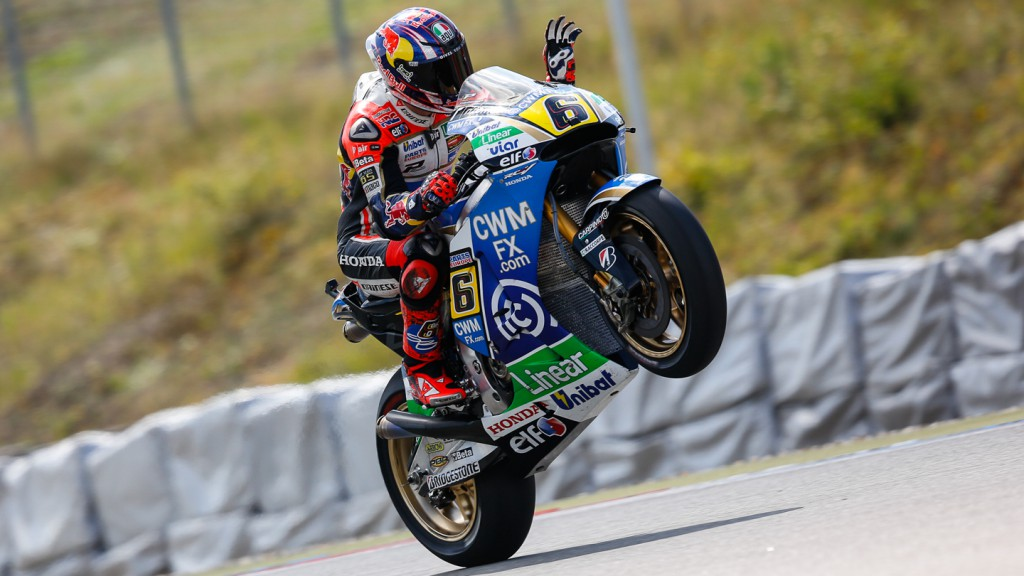 Stefan Bradl, LCR Honda MotoGP, CZE FP1