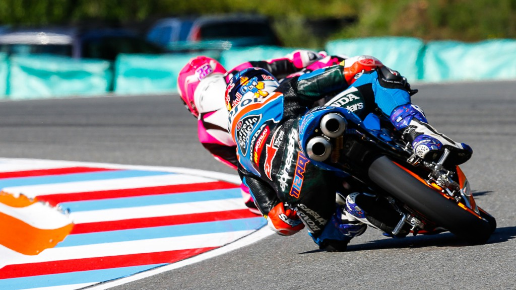 Ana Carrasco, Alex Marquez, RW Racing GP, Estrella Galicia 0,0, CZE FP2