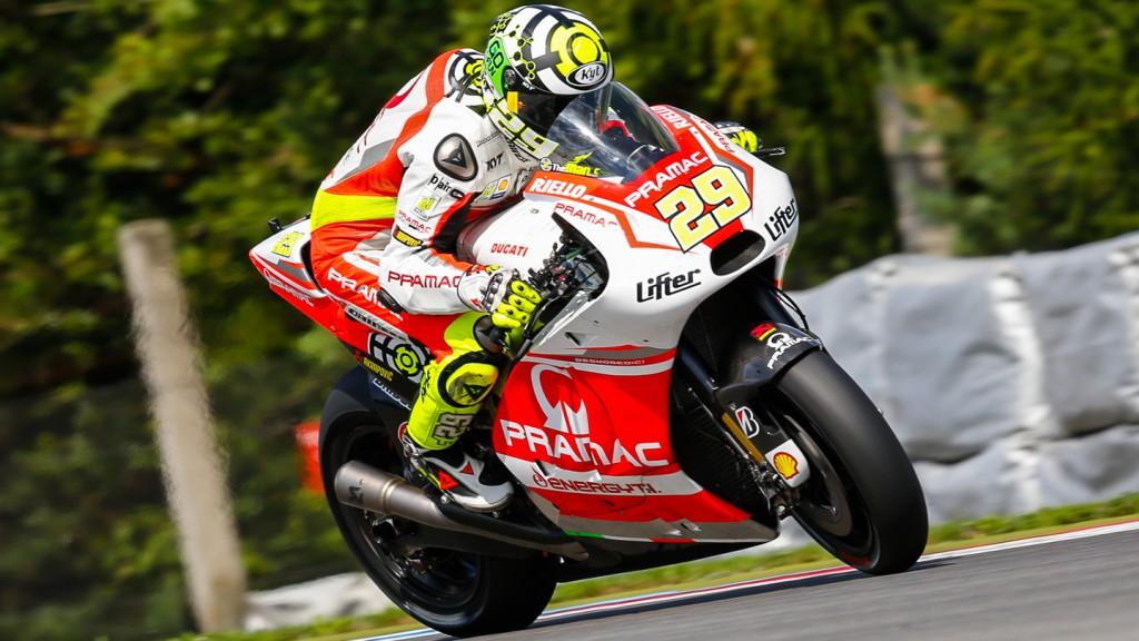 Andrea Iannone, Pramac Racing, CZE FP1