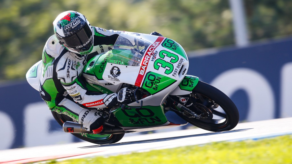 Enea Bastianini, Junior Team GO&FUN Moto3, CZE FP2