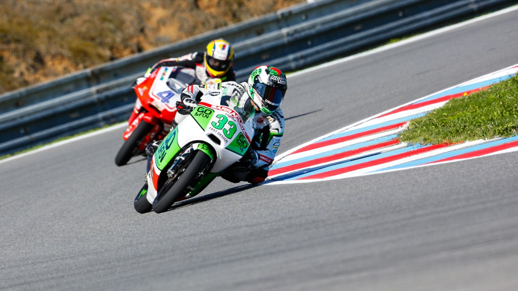 Enea Bastianini, Junior Team GO&FUN Moto3, CZE FP1