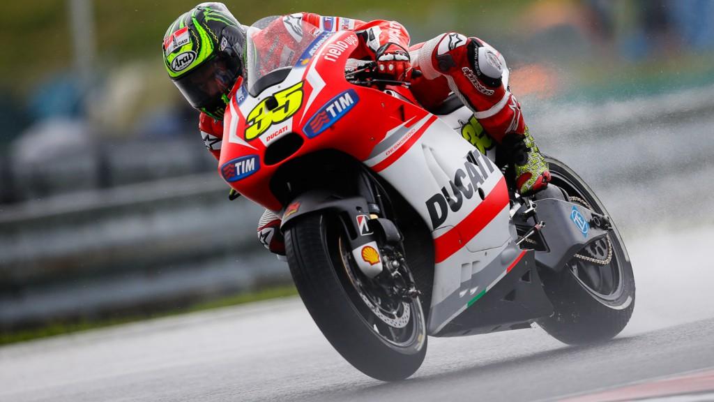 Cal Crutchlow, Ducati Team, CZE FP2