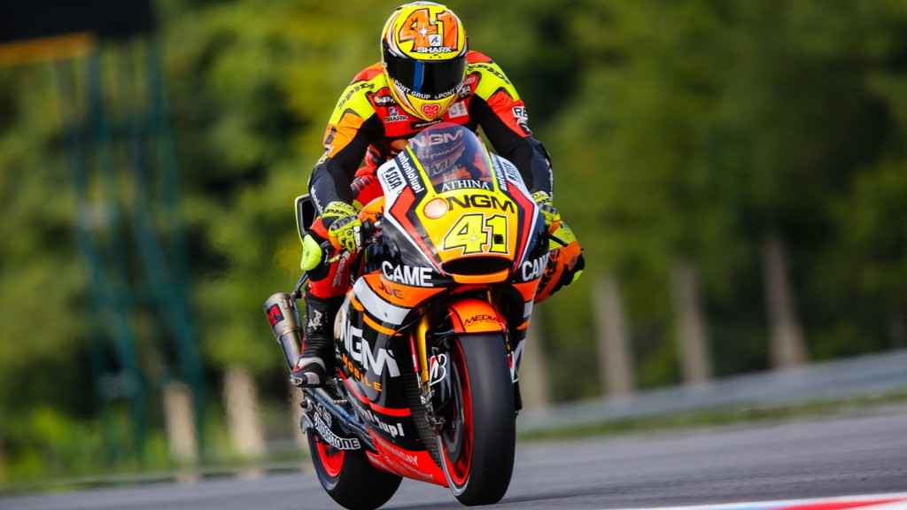 Aleix Espargaro, NGM Forward Racing, CZE FP1