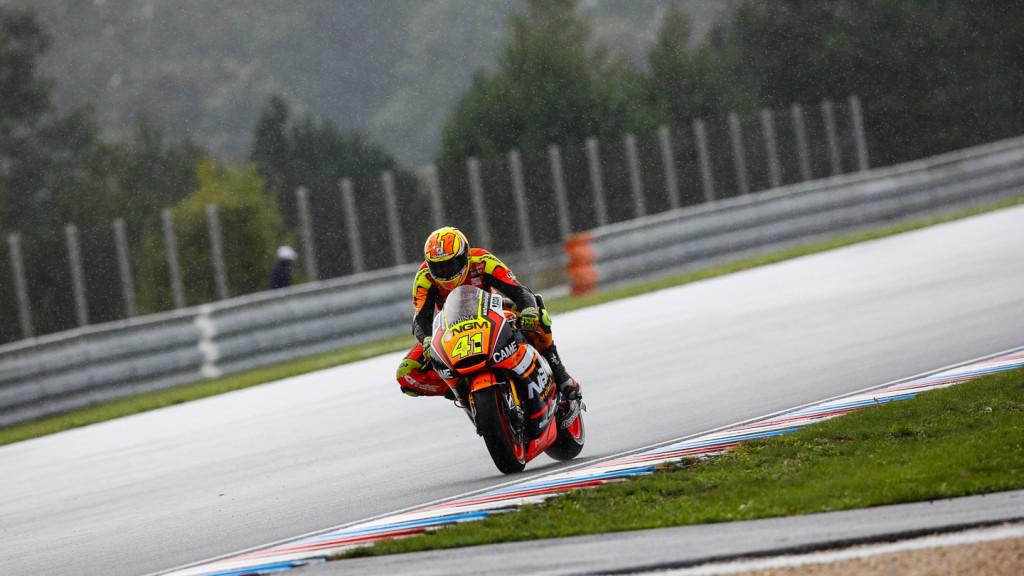 Aleix Espargaro, NGM Forward Racing, CZE FP2