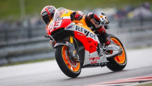 Strong start to round 11 for Repsol Honda