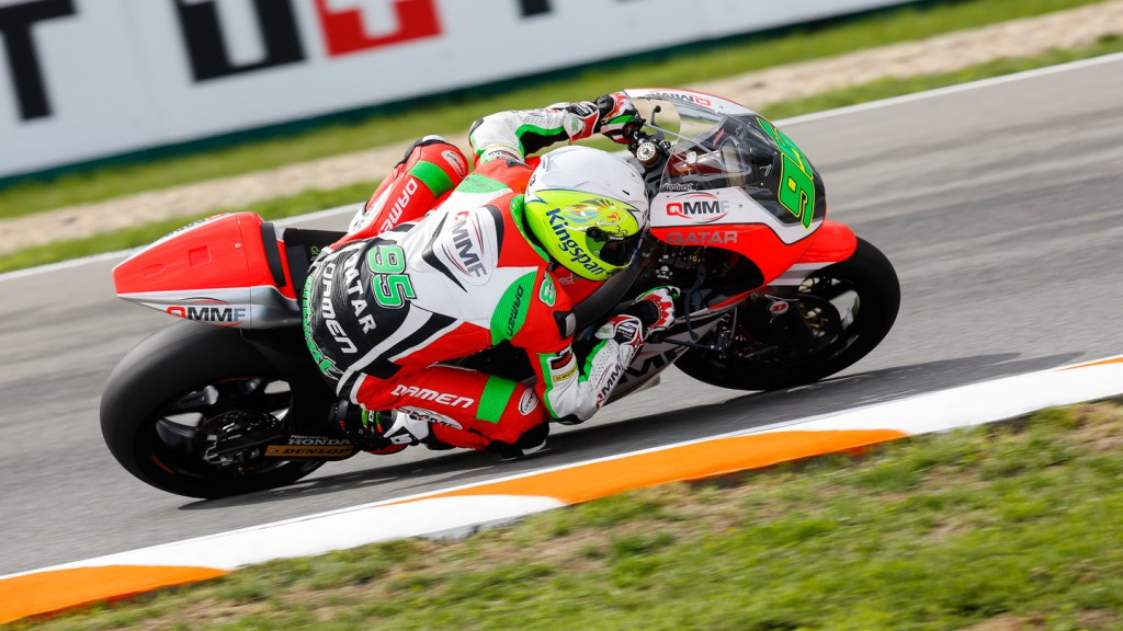 Anthony West, QMMF Racing Team, CZE FP2