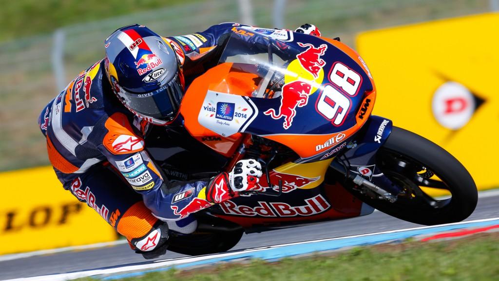 Karel Hanika, Red Bull KTM Ajo, CZE FP2