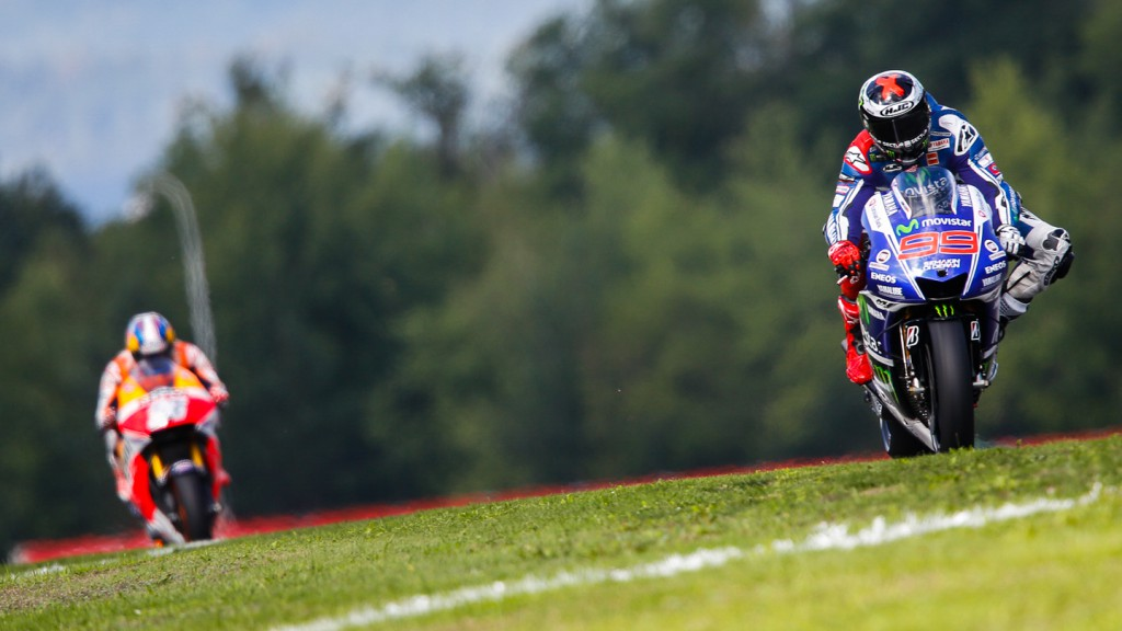 Jorge Lorenzo, Movistar Yamaha MotoGP, CZE FP1