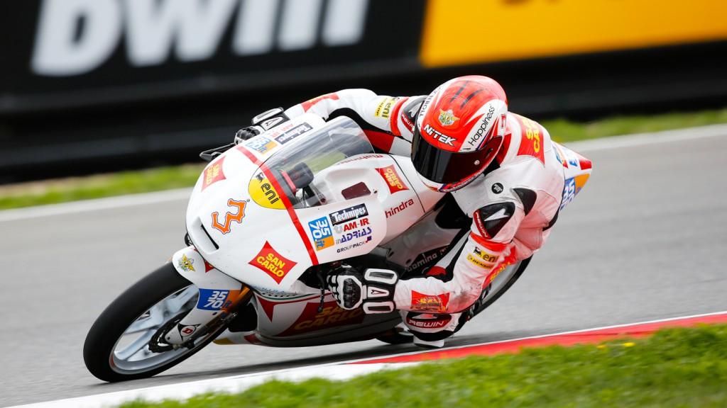 Matteo Ferrari, San Carlo Team Italia, CZE QP