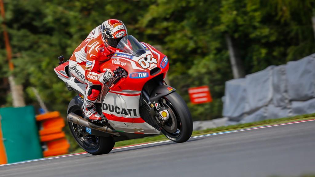 Andrea Dovizioso, Ducati Team, CZE FP3