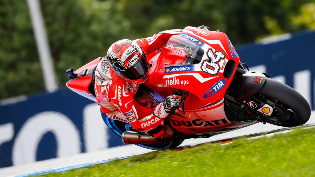 Andrea Dovizioso, Ducati Team, CZE FP4