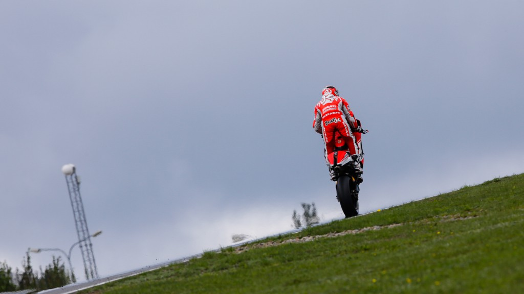 Andrea Dovizioso, Ducati Team, CZE Q2