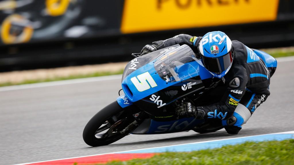 Romano Fenati, SKY Racing Team  VR46, CZE QP