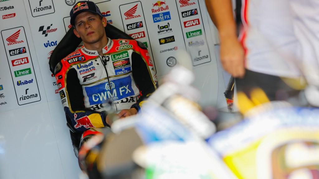 Stefan Bradl, LCR Honda MotoGP, CZE Q2