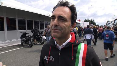 Romano Albesiano discusses Aprilia MotoGP™ plans