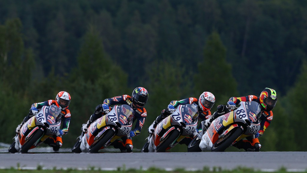 Red Bull MotoGP Rookies Cup, Brno Race 1