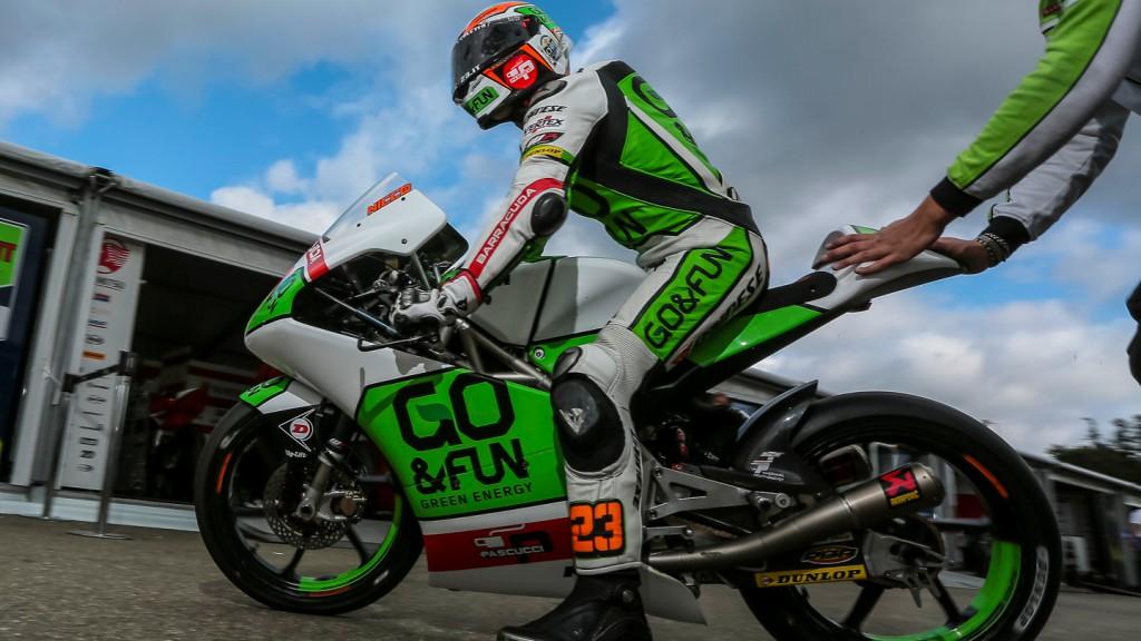 Niccolò Antonelli, Junior Team GO&FUN Moto3, CZE QP