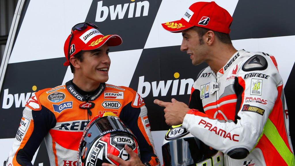 Andrea Iannone, Marc Marquez, Pramac Racing, Repsol Honda Team, CZE Q2