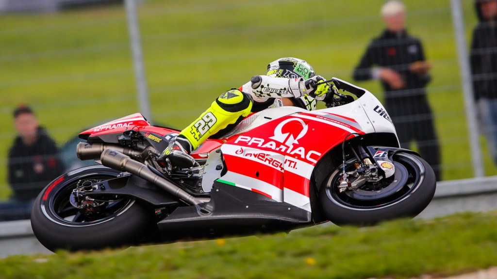 Andrea Iannone, Pramac Racing, CZE Q2