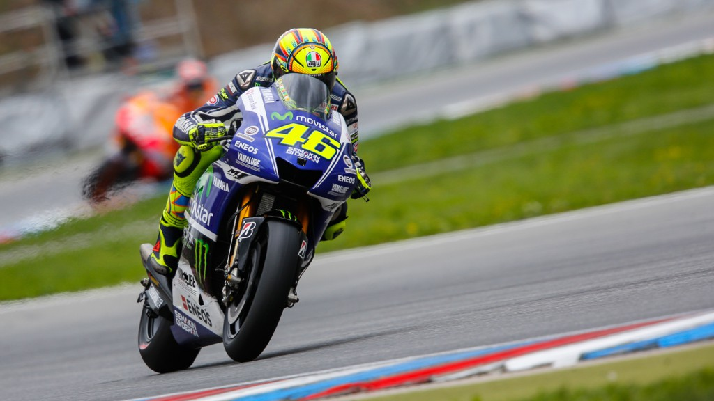 Valentino Rossi, Movistar Yamaha MotoGP, CZE Q2