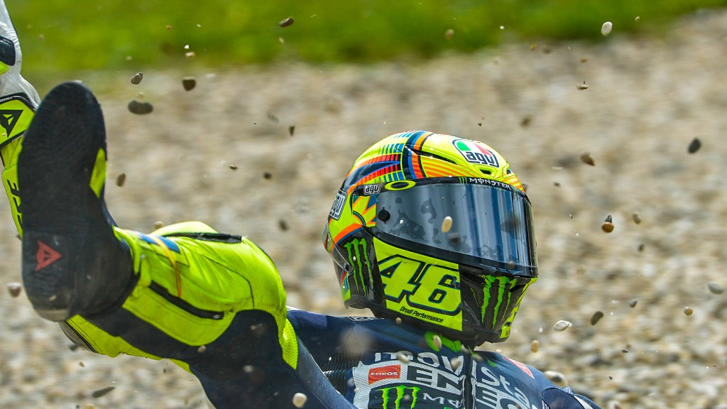 Valentino Rossi, Movistar Yamaha MotoGP, CZE FP4 © Copyright Milagro/ZAC