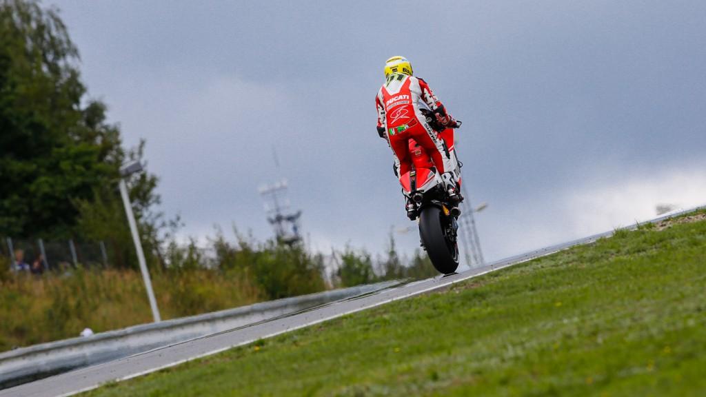 Michele Pirro, Ducati Team, CZE FP3