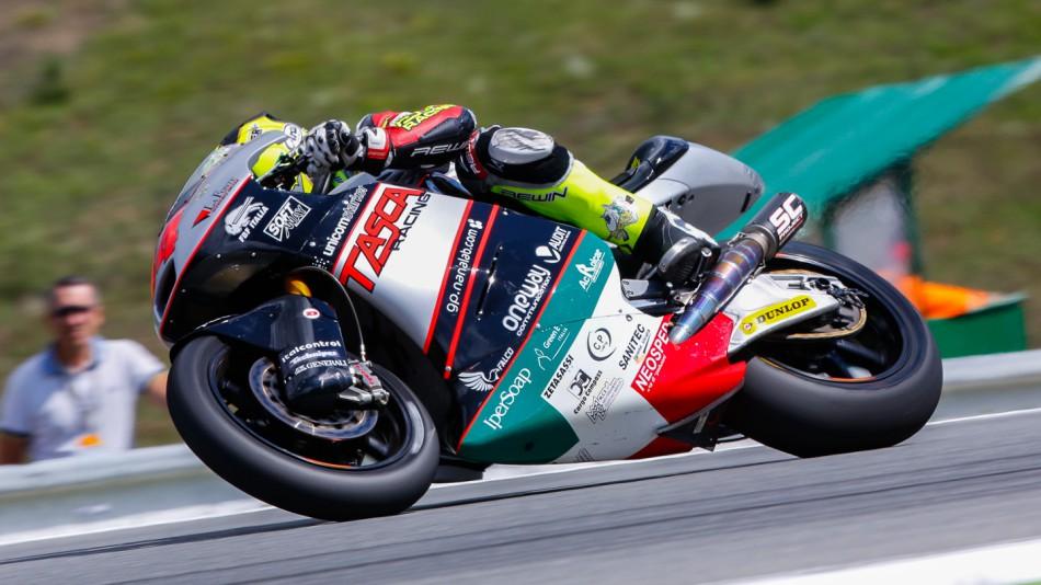 motogp.com · Riccardo Russo, Tasca Racing Moto2, CZE QP