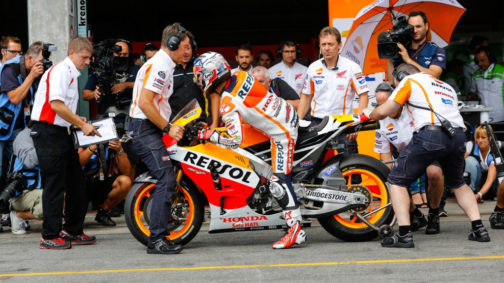 Marc Marquez, Repsol Honda Team, CZE Q2
