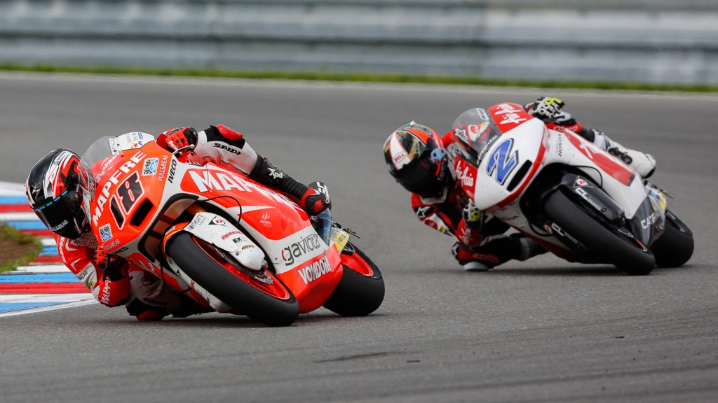 Nicolas Terol, Josh Herrin, Mapfre Aspar Team Moto2, AirAsia Caterham, CZE