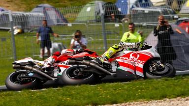 Andrea Dovizioso, Andrea Iannone, Ducati Team, Pramac Racing, CZE RACE