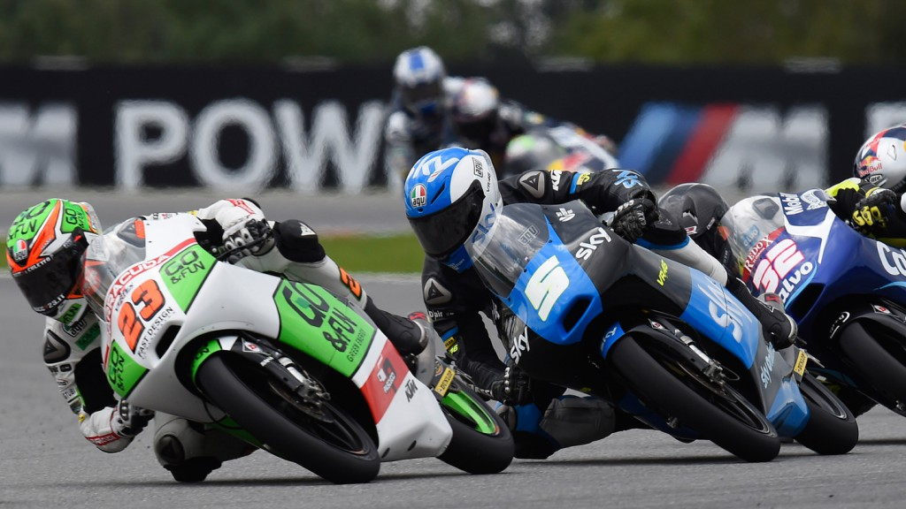 Niccolò Antonelli, Romano Fenati, Junior Team GO&FUN Moto3, SKY Racing Team  VR46, CZE RACE