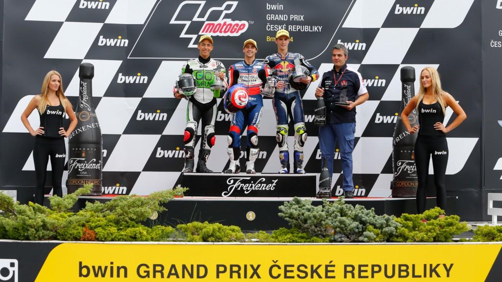 Moto3 Podium, CZE RACE
